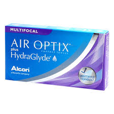 Air Optix plus Hydraglyde Multifocal 6-pack