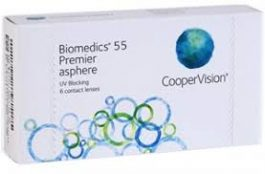 BIOMEDICS 55 EVOLUTION ASPHERE 6-PACK
